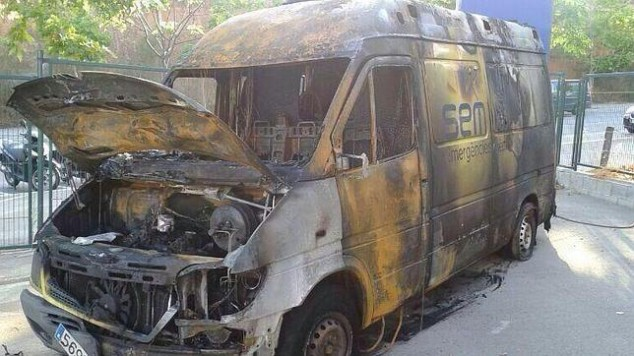 ambulancia sem cremada